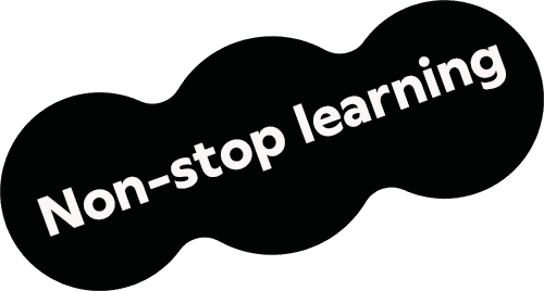 Non-stop learning