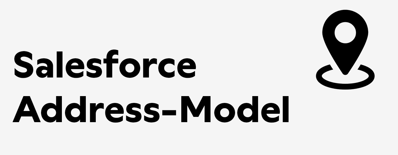 salesforce address model